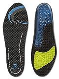 Sof Sole Womens AIRR Performance Full-Length Gel Shoe Insert,Black,Women's 5-7.5