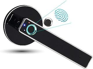 Keyless Smart Fingerprint Door Lock, Strong Alloy Safety Anti-Theft Lock Semiconductor Biometric