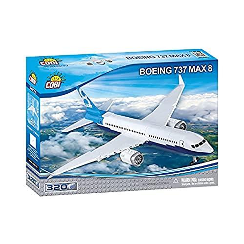 COBI Boeing 737 Max 8 Plane Model Building Kits, 24' x 36'
