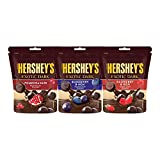 Brookside is now Hershey's exotic dark! This pack comprises of 3 unique flavours of - blueberry & acai, raspberry & goji and pomegranate An exquisitely crafted combination of smooth dark cocoa rich velvety chocolate that wraps rich fruit flavours for...