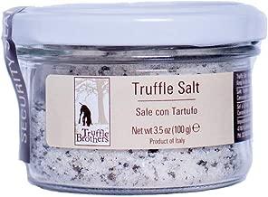 Truffle Salt, Tartufi, Restaurant choice, Gourmet finishing salt, black truffle, umami flavor, product of Italy, 3.5oz