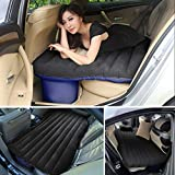 Heavy Duty Multi-functional Car SUV Inflatable Air Mattress Bed Back Seat Cushion With 2 Pillows and...