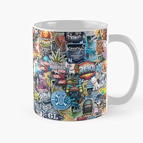 Shoprkcb Csgo Navi Nip Gaming Sneaky Beaky Games Envyus Video Esport Best 11 oz Kaffeebecher - Nespresso Tassen Kaffee Motive