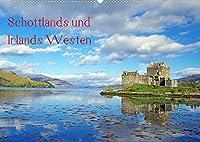 Schottlands und Irlands Westen (Wandkalender 2022 DIN A2 quer): Einige der schoensten Plaetze der schottischen und der irischen Westkueste werden in wunderbaren Farben in eindrucksvollen Lichtstimmungen gezeigt. (Monatskalender, 14 Seiten )