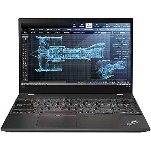 Lenovo ThinkPad P52s Mobile Workstation Ultrabook Laptop (Intel 8th Gen i7-8550U 4-core, 16GB RAM, 512GB SSD, 15.6 Inch FHD 1920x1080 IPS, NVIDIA Quadro P500, Fingerprint, Backlit Keyboard, Win 10 Pro