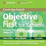 Objective First 3rd For Schools Pack without Answers