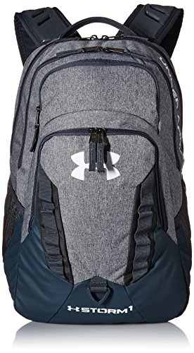 Under Armour Storm Recruit Backpack, Graphite /White, One Size Fits All