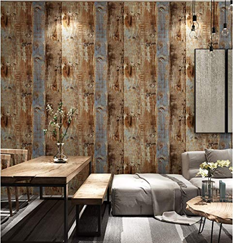 Reclaimed Wood Wallpaper Stick And Peel Buy Online In Colombia At Desertcart