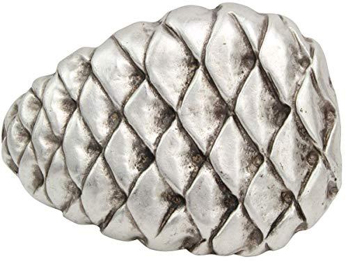 Brazil Lederwaren Gürtelschnalle Zapfen 4,0 cm | Buckle Wechselschließe Gürtelschließe 40mm Massiv | Für Wechselgürtel bis zu 4cm Breite