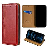 GKGW Flip ケース Case for XTOUCH UNIX Pro ケース Case Cover red
