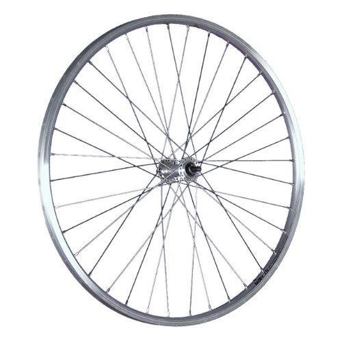Taylor-Wheels 26 Zoll Vorderrad Schürmann Yak19 Hohlkammerfelge/Vollachse - Silber