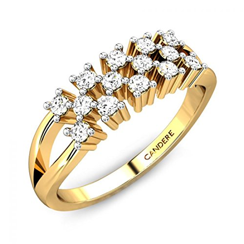 ( 3. ) Candere By Kalyan Jewellers 22KT Yellow Gold Ring for Women