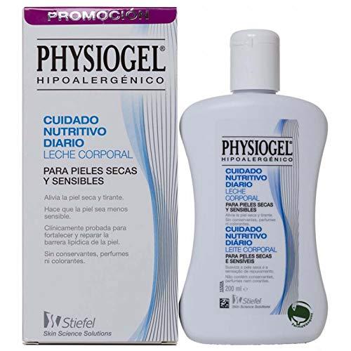 Physiogel Körpermilch - Täglich nahrhafte Pflege - Trockene und empfindliche Haut - 200 ml