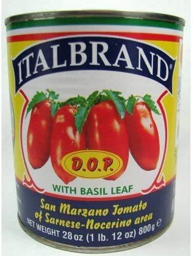Italbrand, San Marzano Tomatoes D.O.P., 28 Ounce...