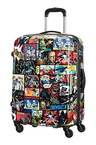 American Tourister by Samson itet Trolley 65cm Disney Edition Spinner con custodia cultura nero Star Wars glanz m