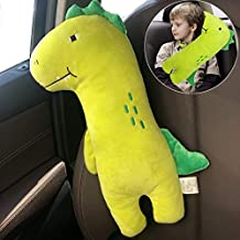 Seatbelt Pillow, Car Seat Belt Pillow for Kids, Seat Belt Covers Kid Neck Pillow Travel, Kids Pillow Seatbelt Shoulder Pad Strap Cushion Car Seat Pillow Toddler Baby Head Rest for Car Seat Booster