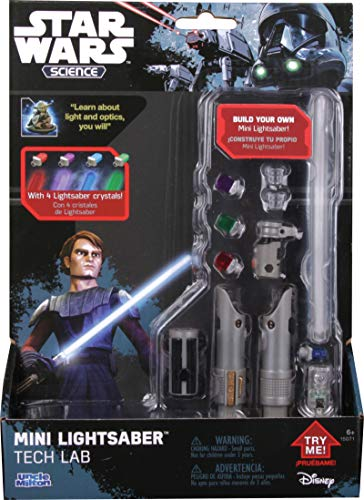 Uncle Milton Star Wars Mini Lightsaber Tech Lab