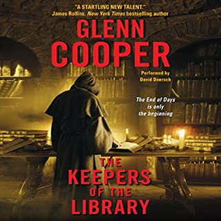 The Keepers of the Library audiobook cover art