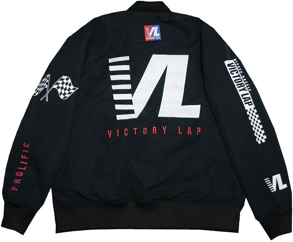 Men's Cover Hip Hop Rap Victory Limited price sale Black Satin Jacket Baseball Lap Price reduction