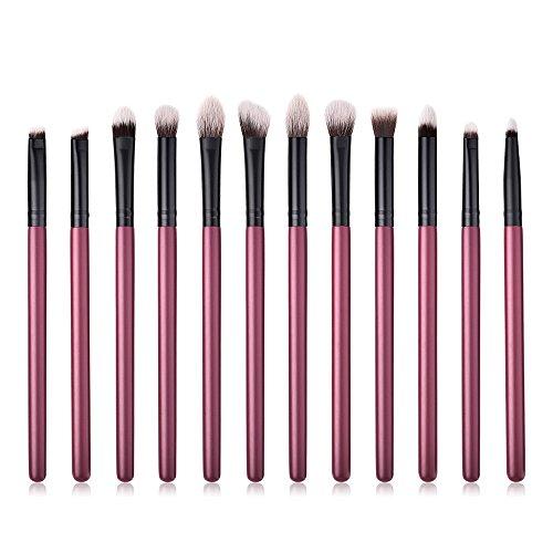 WINJIN Pinceaux Maquillage Set de 5PCS 7PCS 10PCS 12PCS 18PCS Professionnel Cosmétique Brush Pinceaux Outils de maquillage doux poils synthétiques Kit