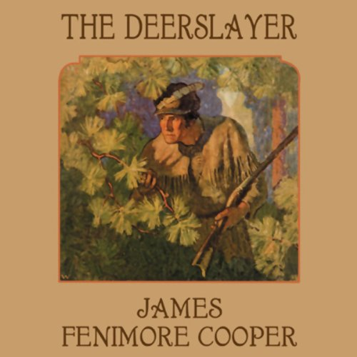 The Deerslayer audiobook cover art