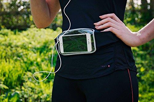DURAGADGET Ceinture/Banane de Sport pour téléphone Portable/Smartphone Gigabyte GSmart Guru GX et Mika MX - réglable, idéal pour Le Jogging