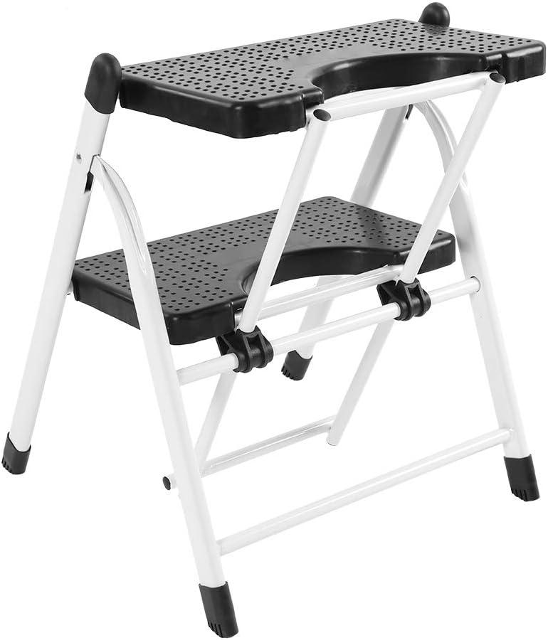 Ladder Folding 2 Step Duty Mini San Jose Mall Regular store Stoo Heavy