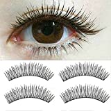 litymitzromq 10 Pairs Fake False Eyelashes, Women Professional Makeup Clusters Soft Natural Cross Handmade Classical Grafting Eye Lashes Makeup Extension False Eyelashes