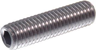 M8x16 - ISO 4027 - aus rostfreiem Edelstahl A2 DIN 914 - SC914 SC-Normteile V2A Gewindestifte mit Innensechskant und Spitze - Madenschrauben 20 St/ück