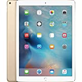 Apple iPad Pro (128GB, Wi-Fi, Gold) 12.9in Tablet (Renewed)