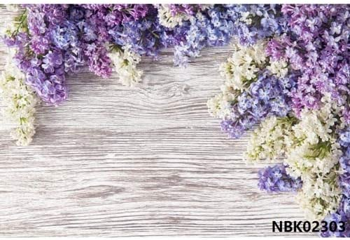 Vinyl Wood Background for Photography Oklahoma City Mall Board Flower Spring Fo Pet High order