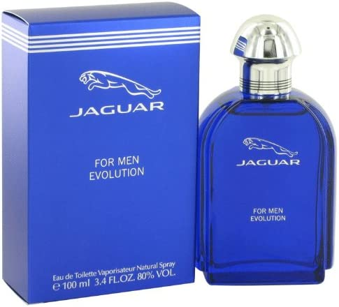 Jaguar Evolution by Men's Eau De - oz 3.4 Toilette Spray Now free Max 90% OFF shipping