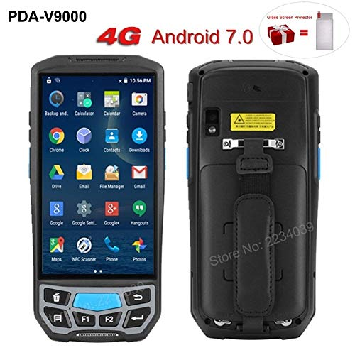 Purchase 5.0 Inch 1D/2D QR Barcode Scanner NFC WiFi PDA Android 7.0 5 Inch Wireless Portable Bar Cod...