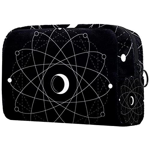 (4 Stück) Schubladenknöpfe Schubladenknauf Zuggriff Kristallglasschrank Zieht Knöpfe mit Schrauben für den Schrank Home Office Schrank Symboles de l'éclipse des pentagones 18.5x7.5x13cm
