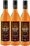 Andalö Original 15% vol. Sanddorn Aperitif Likör (3 x 0.7 l)