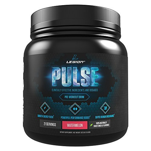 LEGION Pulse, Best Natural Pre Workout Supplement for Women and Men -...