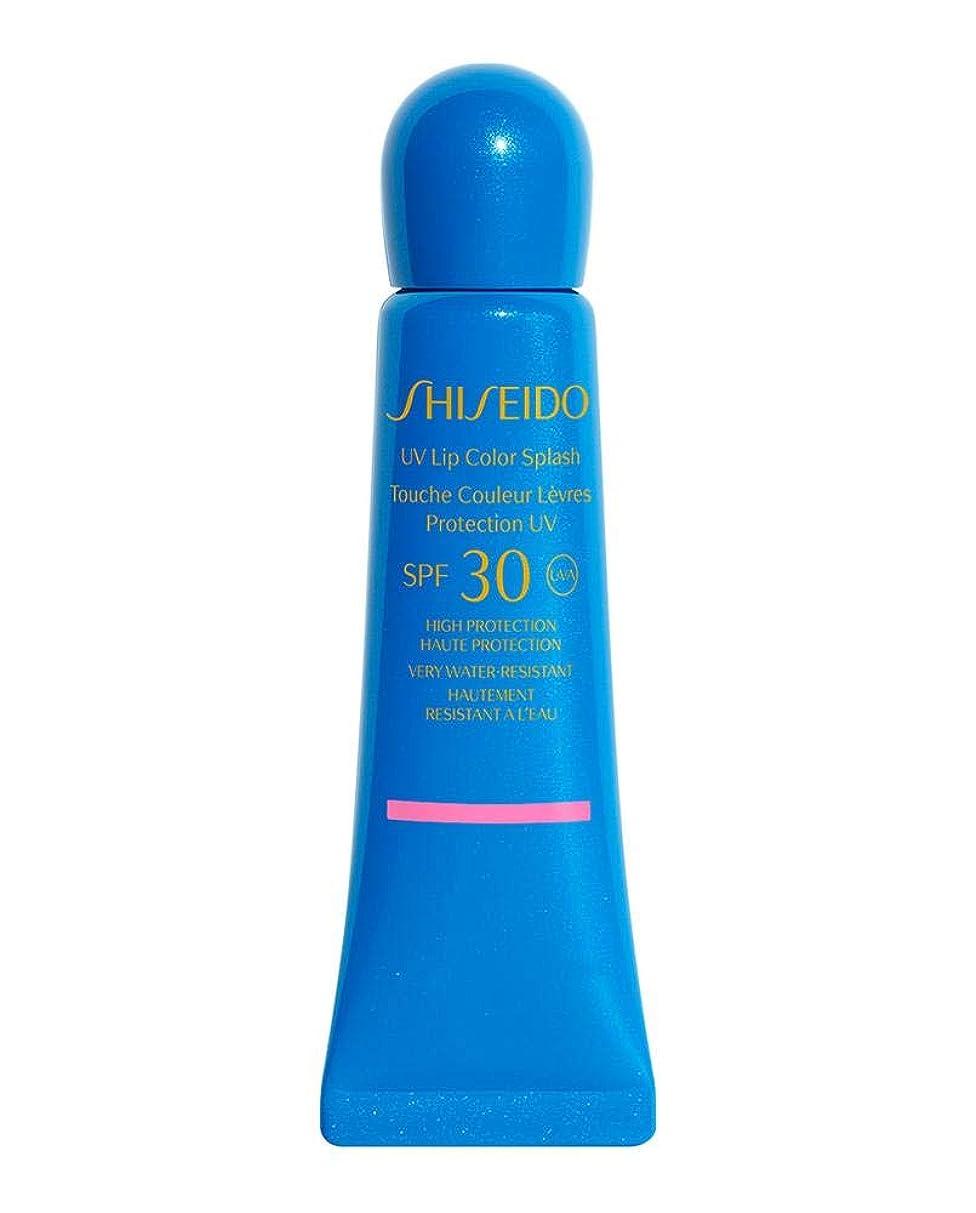 はげ拒絶する高める資生堂 UV Lip Color Splash SPF 30 (Very Water Resistant) - # Uluru Red 10ml/0.34oz並行輸入品