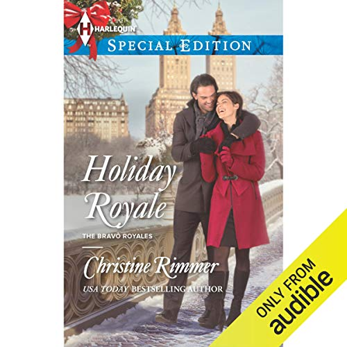 Holiday Royale audiobook cover art