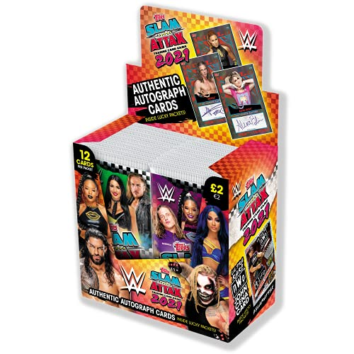 Topps WWE Slam Attax 2021 - Full Box