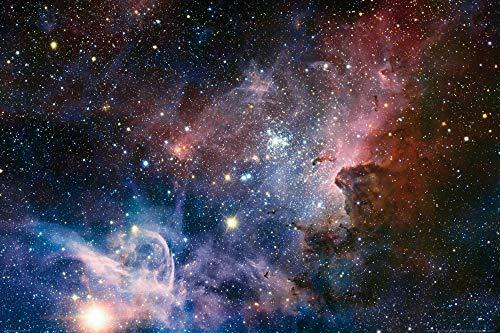 1art1 Der Weltraum - Sternengeburt Im Carinanebel XXL Poster 120 x 80 cm