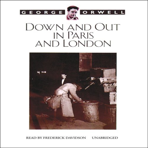 Down and Out in Paris and London audiobook cover art