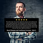 Beard Conditioner For Men With Beard Softener - Beard Thickener with Tea Tree and Beard Growth Oil - Beard Grooming and… 6
