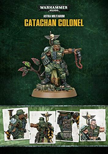 WARHAMMER 40K Games Workshop Astra Militarum Catachan Colonel - Limited Edition