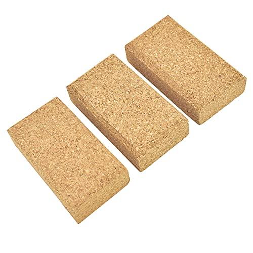 EMILYPRO Cork Sanding Blocks 4-1/4