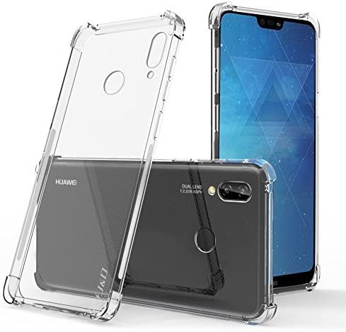 J D Case Compatible for Huawei P20 Lite Case Corner Cushion Ultra Clear Shock Resistant Protective product image