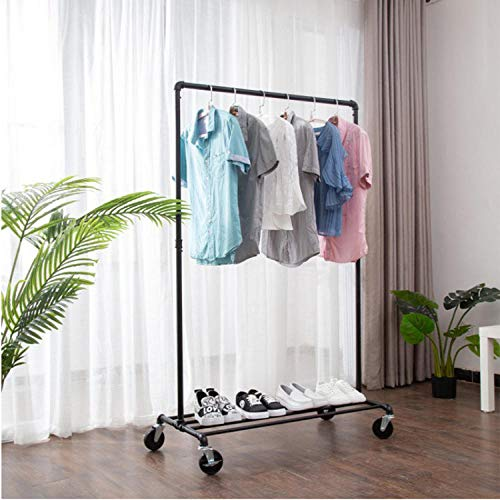 TAYIBO Garderobenständer Kleiderständer,Kleiderständer, Abnehmbarer Boden, Jungen und Mädchen Eisen-I60