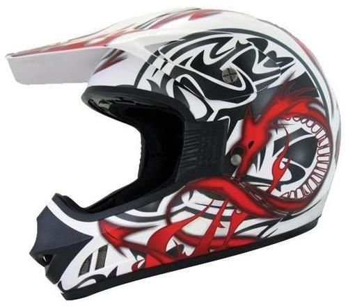 WinNet Casco da cross motard quad
