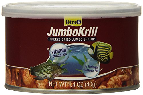 Tetra JumboKrill Freeze Dired Jumbo Shrimp, Vitamin Enhanced
