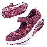 Women's Comfortable Working Nurse Shoes Non-Slip Adjustable Breathable Walking Buffer...
