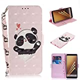 Case for Galaxy A8 Plus 2018 {Not for A8}, Galaxy A8 Plus Wallet...